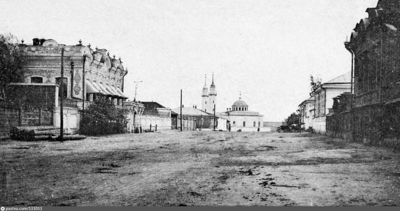 Троицк. Татарский переулок. Вид на мечеть