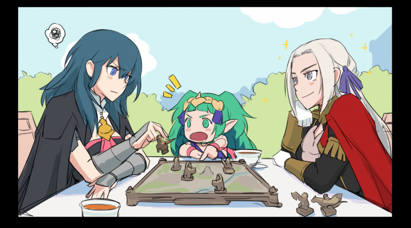__byleth_edelgard_von_hresvelg_byleth_and_sothis_fire_emblem_and_1_more_drawn_by_mikoyan__375b75734978a40ccedecb8a3cde1cad