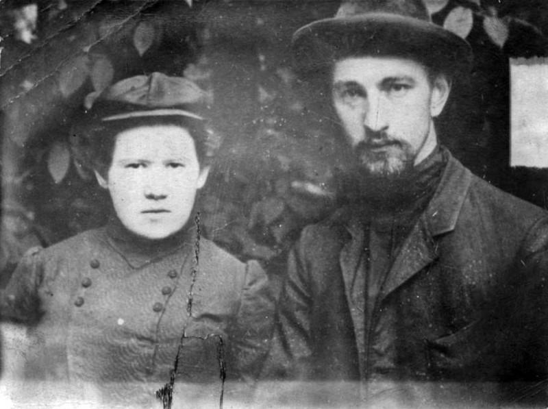 Долгова Харитина Петровна и Долгов Константин Никитьевич. Томск. 1907