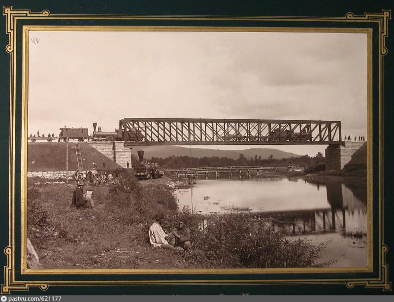 Железнодорожный мост через р.Ай