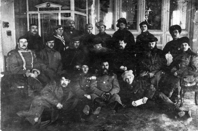 В.И.Ленин с делегацией уральцев