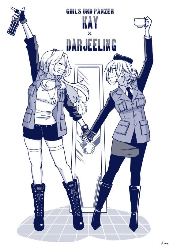 __darjeeling_and_kay_girls_und_panzer_drawn_by_hone_honehone083__b23088d314ed122d94b8b2ba81f282f5