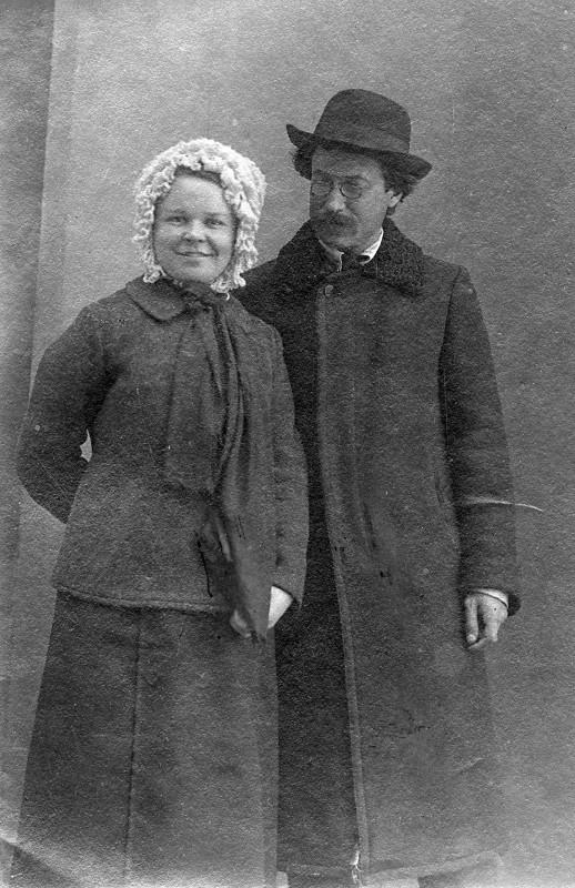 Клавдия Кирсанова и Емельян Яровславский