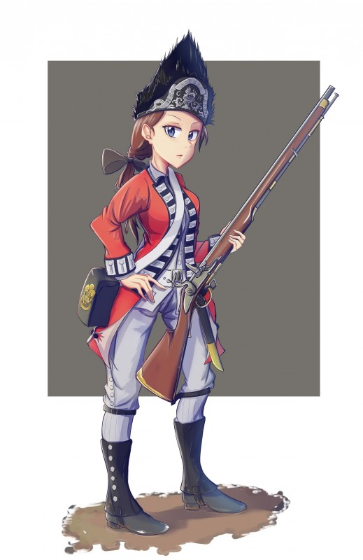Unit of 23rd Royal Welch Fusilier during the American Revolutionary War 82174177_p0