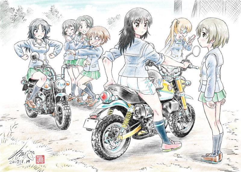 __maruyama_saki_murakami_oono_aya_sakaguchi_karina_sawa_azusa_and_others_girls_und_panzer_drawn_by_kubota_shinji__a7a7ef720c05e8a5119bacb9716ca971