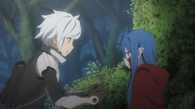 [Anime Time] Dungeon Ni Deai Wo Motomeru No Wa Machigatteiru Darou Ka Iii - 01 [1080p][HEVC 10bit x265][AAC][Multi Sub].mkv_snapshot_02.18_[2020.10.10_20.04.03]