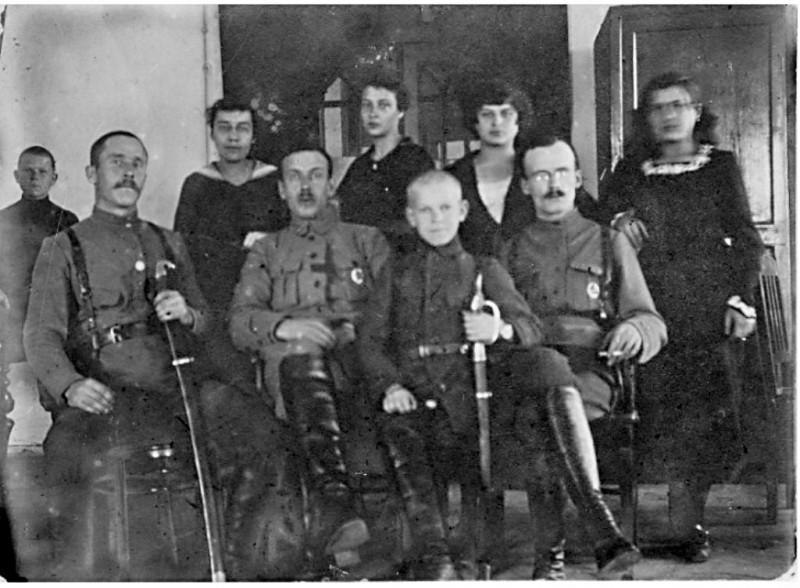 Служащие Губвоенкомата.Пермь 1918