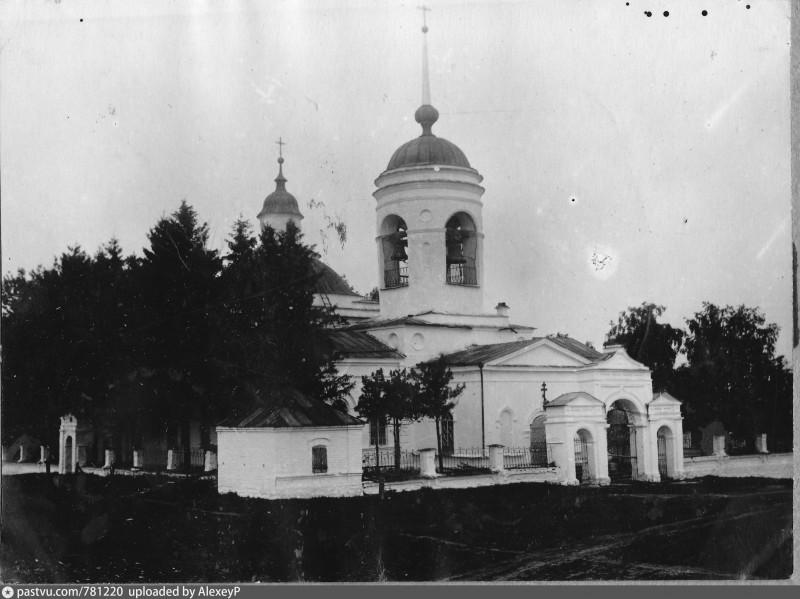 Церковь Георгия Победоносца в селе Камышево