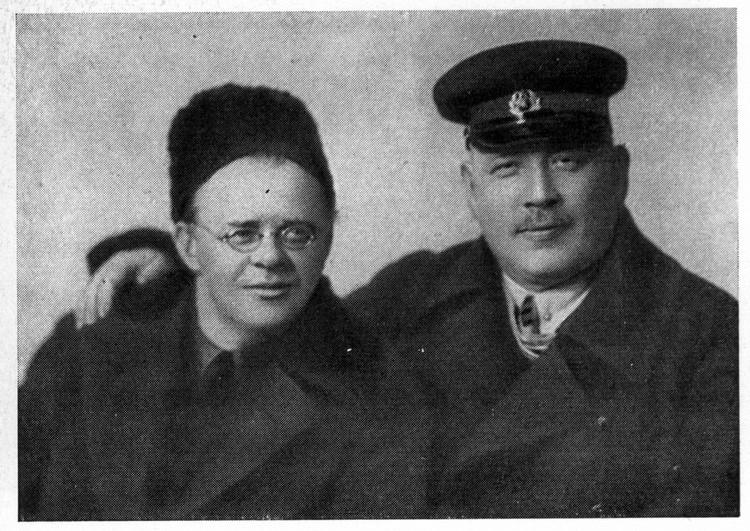 Н.Н.Накоряков и Демьян Бедный