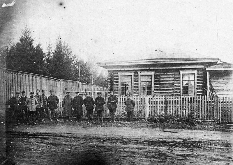 Штаб Красной Гвардии в Алапаевске