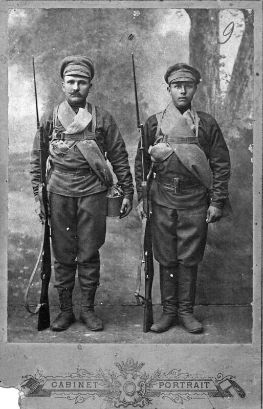 Алапаевские красногвардейцы братья Середкины