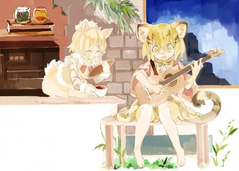 __alpaca_suri_and_sand_cat_kemono_friends_drawn_by_konabetate__f7c41e3a85710c2b24eb3bd279765700