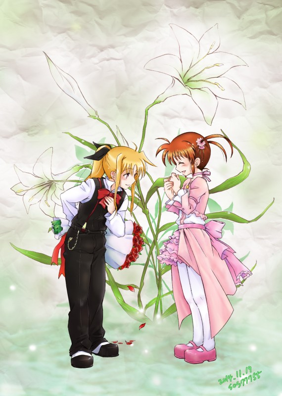 __fate_testarossa_and_takamachi_nanoha_lyrical_nanoha_and_mahou_shoujo_lyrical_nanoha_drawn_by_sos77755__437abfaffbeebf585c499db7bd0272e4