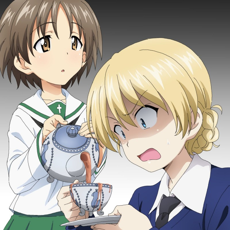 __darjeeling_and_maruyama_saki_girls_und_panzer_drawn_by_maita1118__d71c2583b889ca8d6fd5ad986044147a