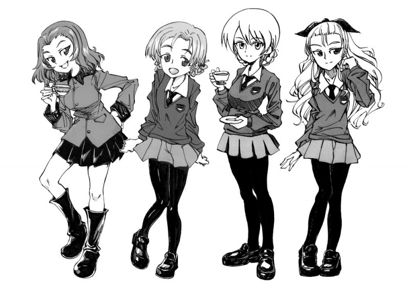 __assam_darjeeling_orange_pekoe_and_rosehip_girls_und_panzer_drawn_by_mituki_mitukiiro__5587cc38737b29ac764761ac17e70eac