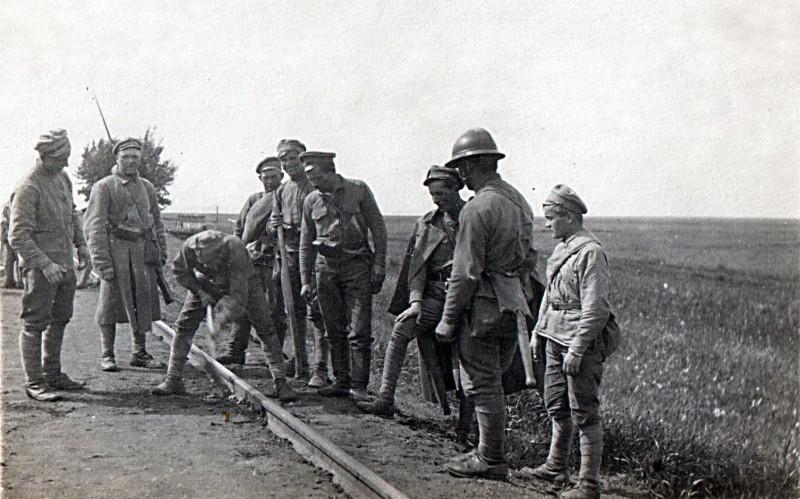 Чехословаки близ Бузулука (как утверждается в интернетах)