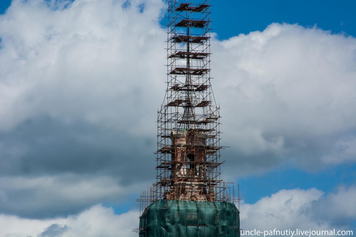 Калязинская колокольня. Реставрация