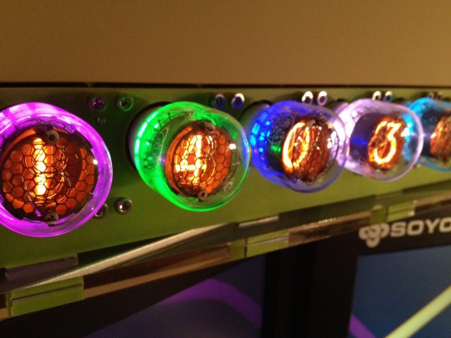 Nixie Tube Display for TS-590