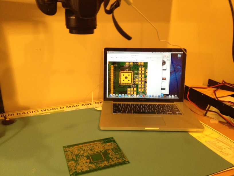 soldering setup