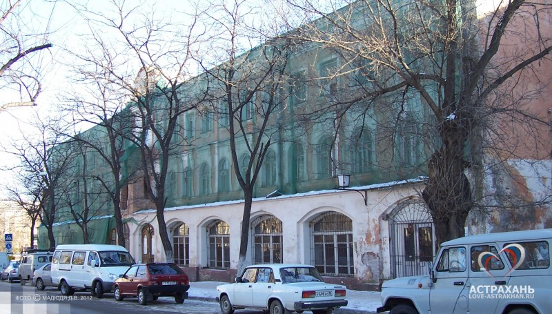 новомосковская до реставрации