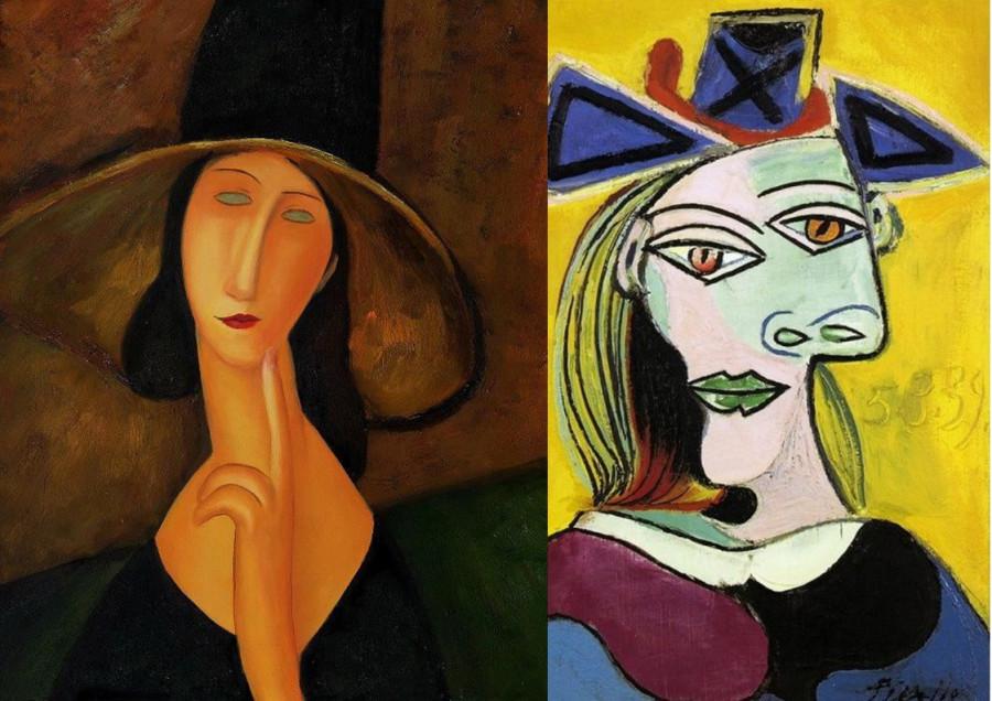 пикассо и модильяни