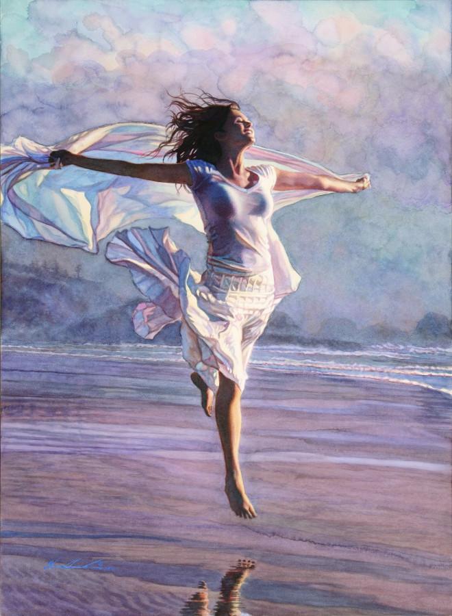 летящая женщина стив хенкс
