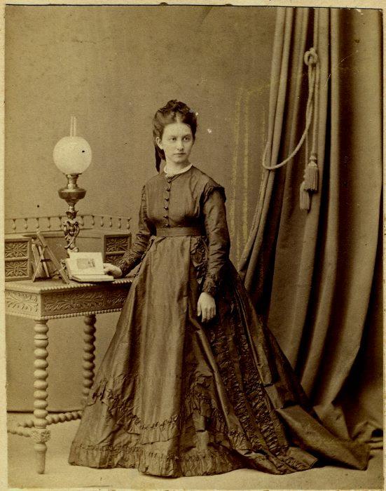 1870 год Анна Ивановна Соболева (ур. Скворцова) 18 лет
