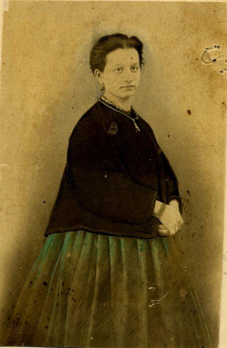 1873 год Анна Ивановна Соболева (ур. Скворцова) 21 год