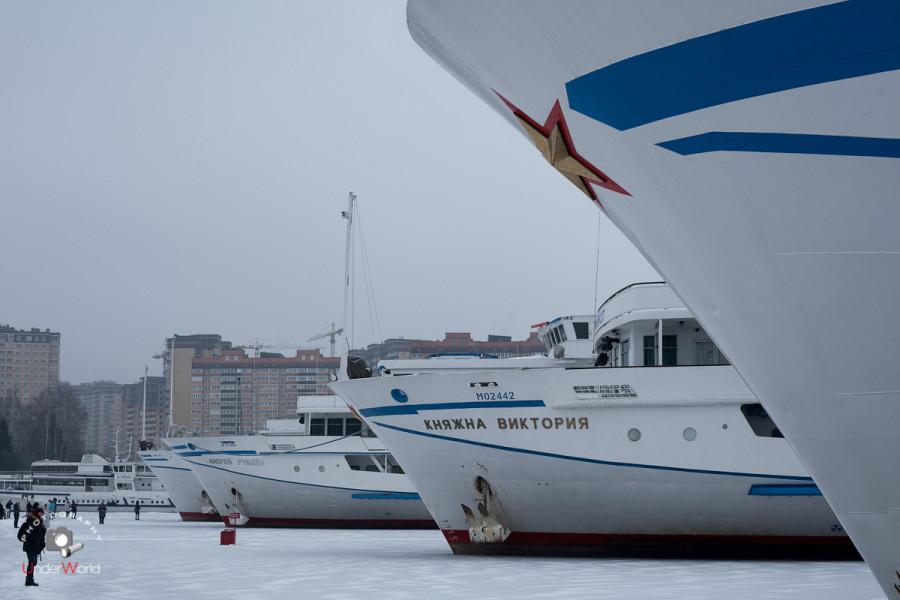 Хлебниковский затон, Московская область