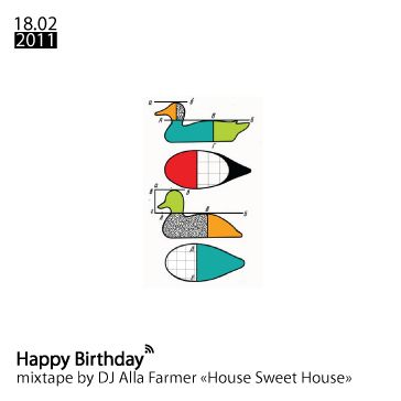 Dj Alla Farmer - House Sweet House (mixtape for bar-Duck)