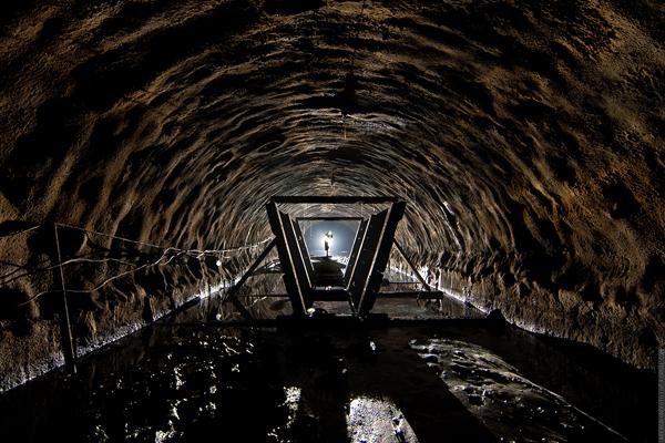 Заброшенный тоннель, недострой
