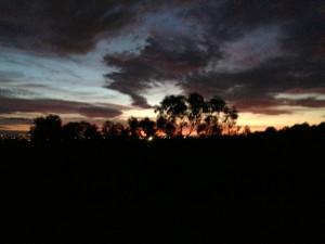 sunset mel