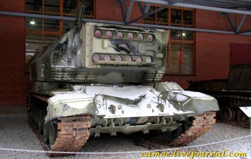 лазерный танк 1К17 Сжатие