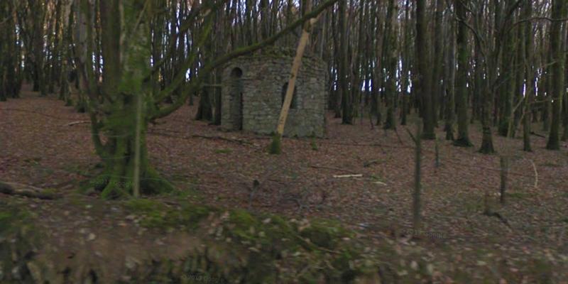 Девоншир,-Дартмур,-руины