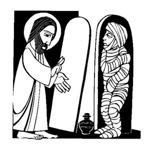 Jesus & Lazarus