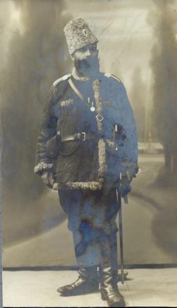 Кучеренко Ф.П. - участник Первой Мировой войны (из личного архива потомков Кучеренко)