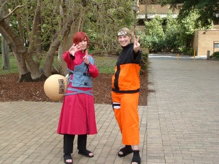 Gaara and Naruto - Manifest saturday