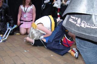 Riku and Sora molest eachother