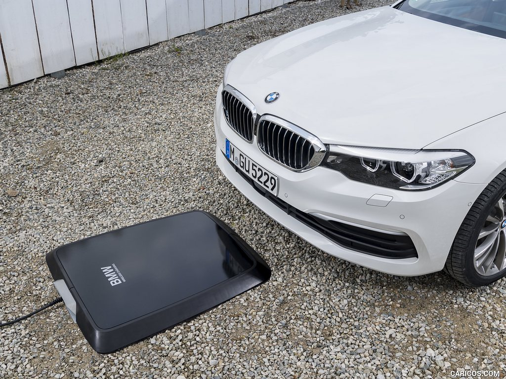 Беспроводная зарядка автомобилей