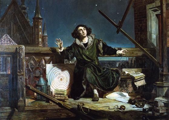 Коперник картина