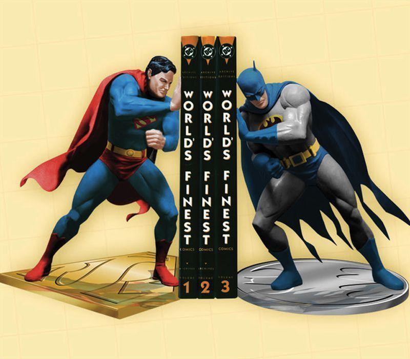 22. Супермен и Бэтмен
