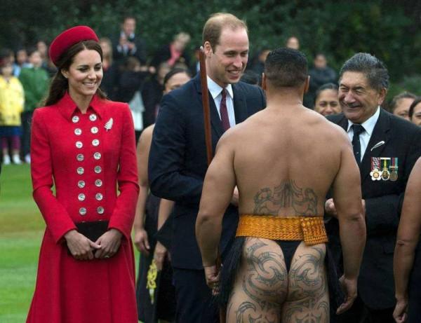 встреча с воином маори