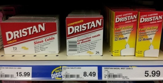 Медикамент Дристан