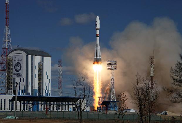 Старта ракеты Союз 2.1а
