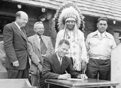 Создание Бюро по делам индейцев