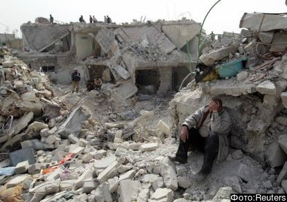 Гражданская война в Сирии (с) Рейтерс