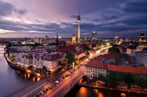 Вечерний Берлин, Германия