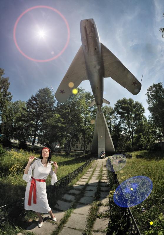 фотограф Челябинск стиль винтажное платье ретро