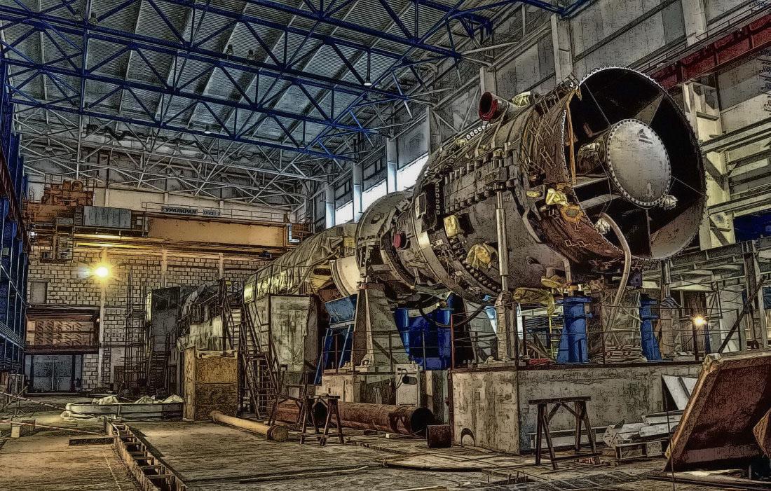 ТЭЦ на природном газе и газовая турбина Siemens - жареная хэдеэрня