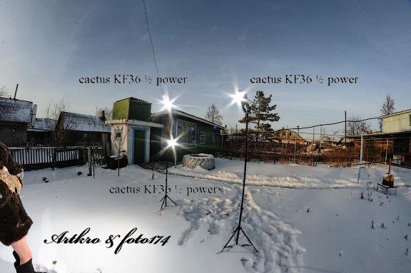 зимний экстрим фотограф Челябинск снег купальник стробизм стробист strobist